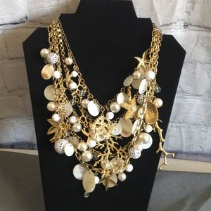 Multilayered Statement Necklace